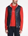 ARMANI EXCHANGE FUNNELNECK CHANNEL-QUILTED PUFFER VEST PUFFER JACKET [*** pickupInStoreShippingNotGuaranteed_info ***] f