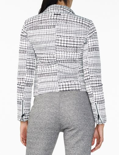 ARMANI EXCHANGE CHANNEL-QUILTED MOTO Woman retro