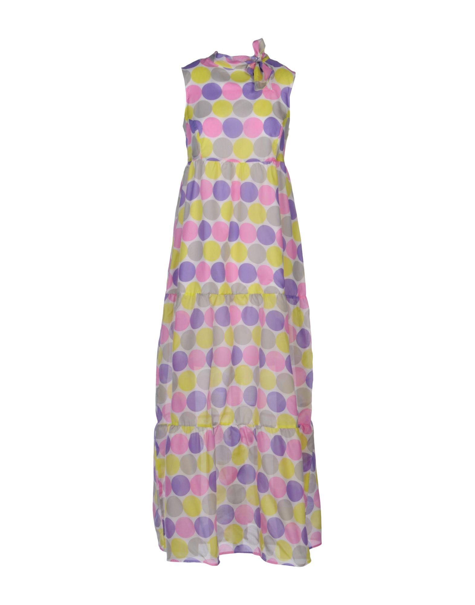 цена  LA CAMICIA BIANCA Длинное платье  онлайн в 2017 году