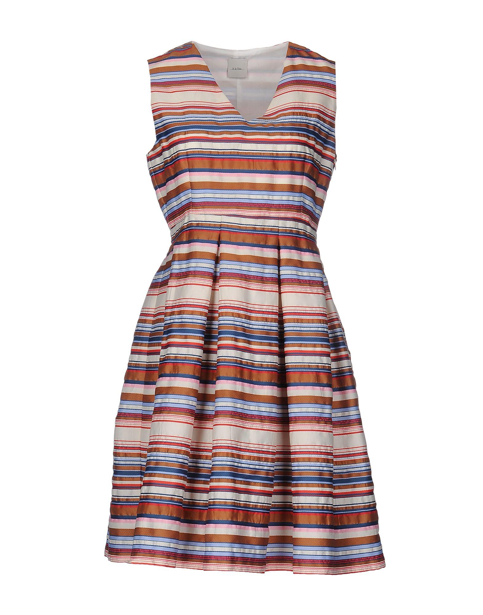 ...À_LA_FOIS... Короткое платье платье