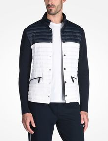 ARMANI EXCHANGE PACKABLE COLORBLOCK PUFFER JACKET PUFFER JACKET Man f