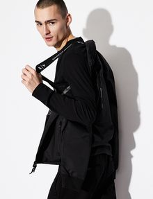 ARMANI EXCHANGE WATER RESISTANT BACKPACK JACKET Jacket [*** pickupInStoreShippingNotGuaranteed_info ***] a