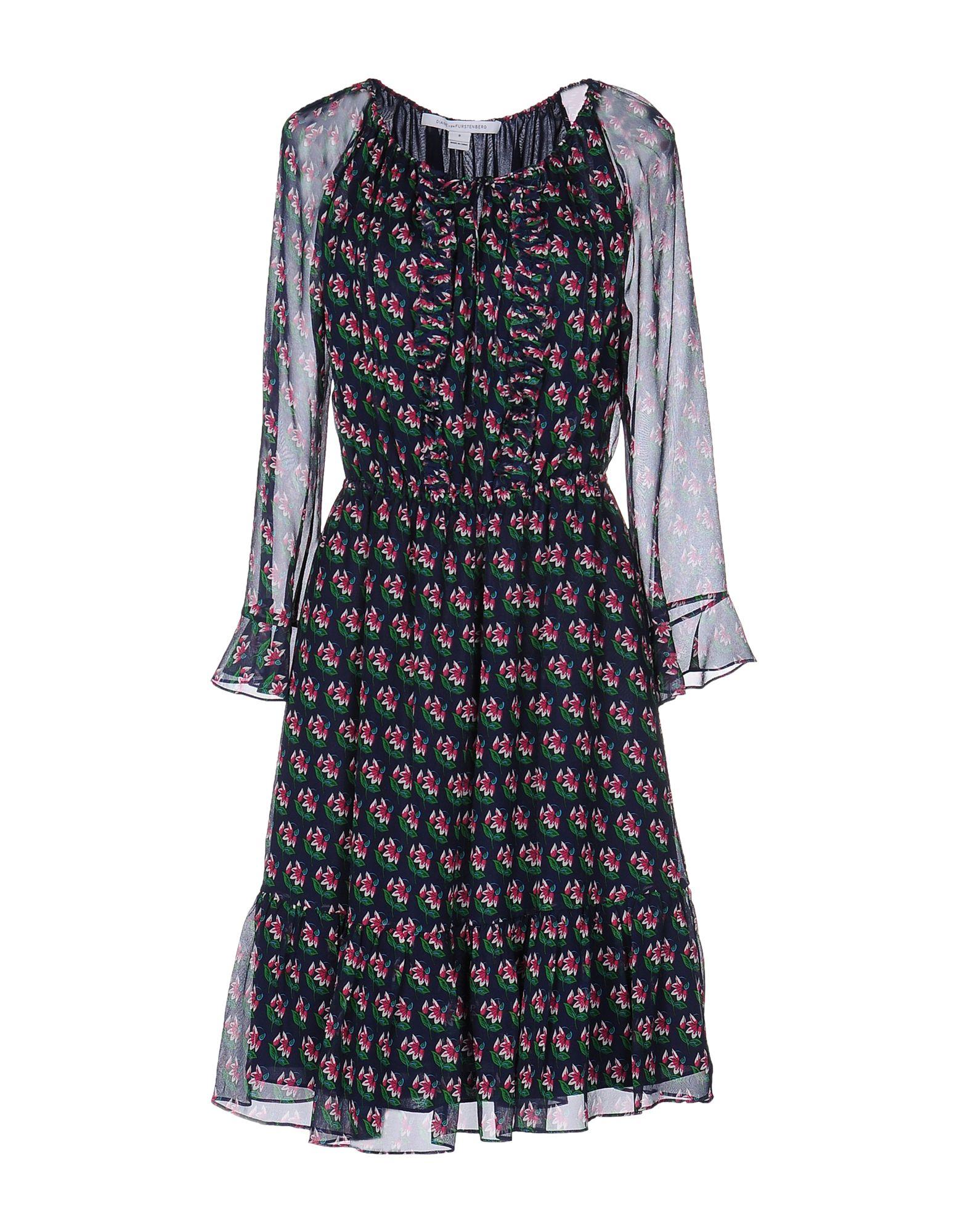 DIANE VON FURSTENBERG Платье до колена diane von furstenberg платье до колена