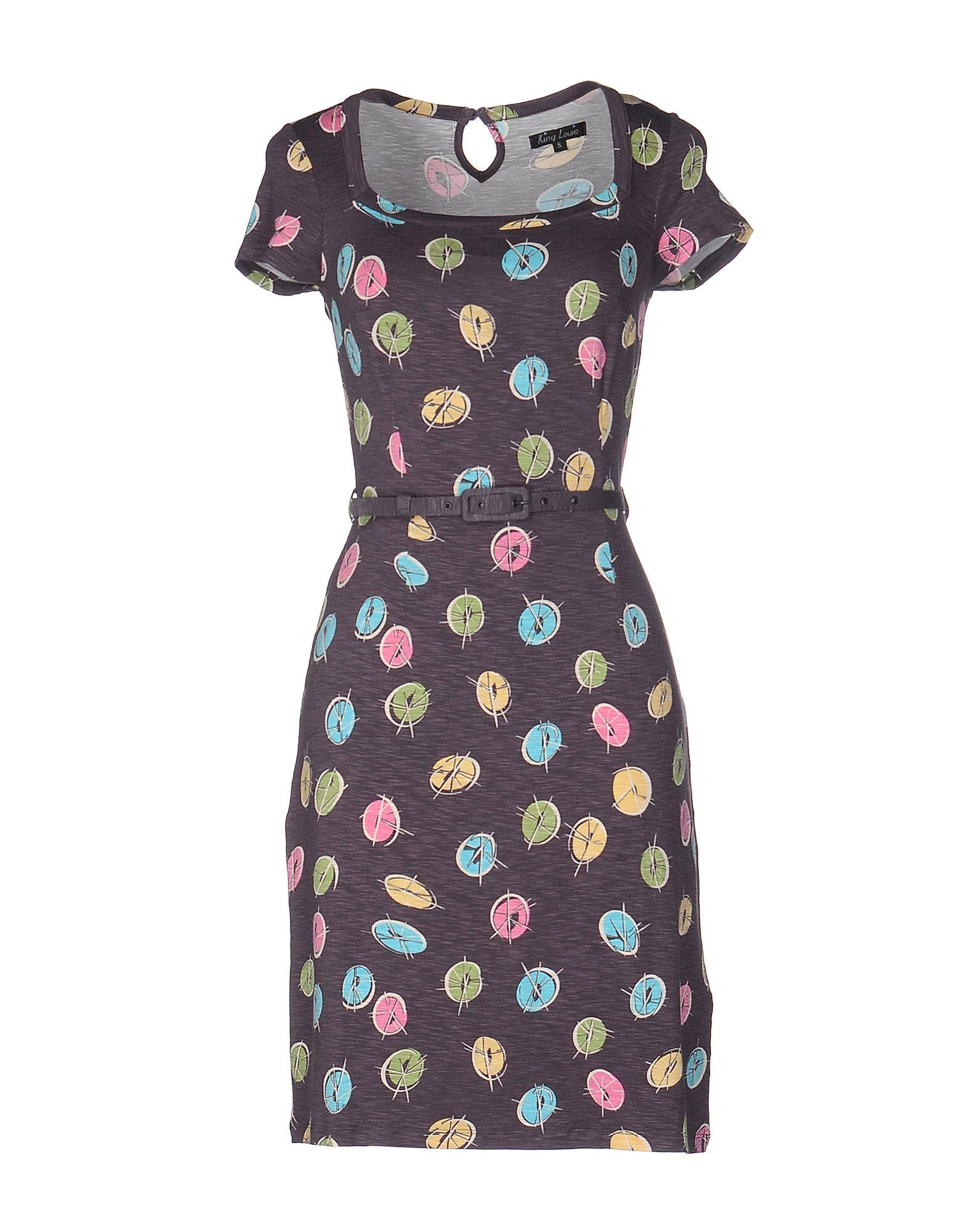 цена  KING LOUIE Короткое платье  онлайн в 2017 году