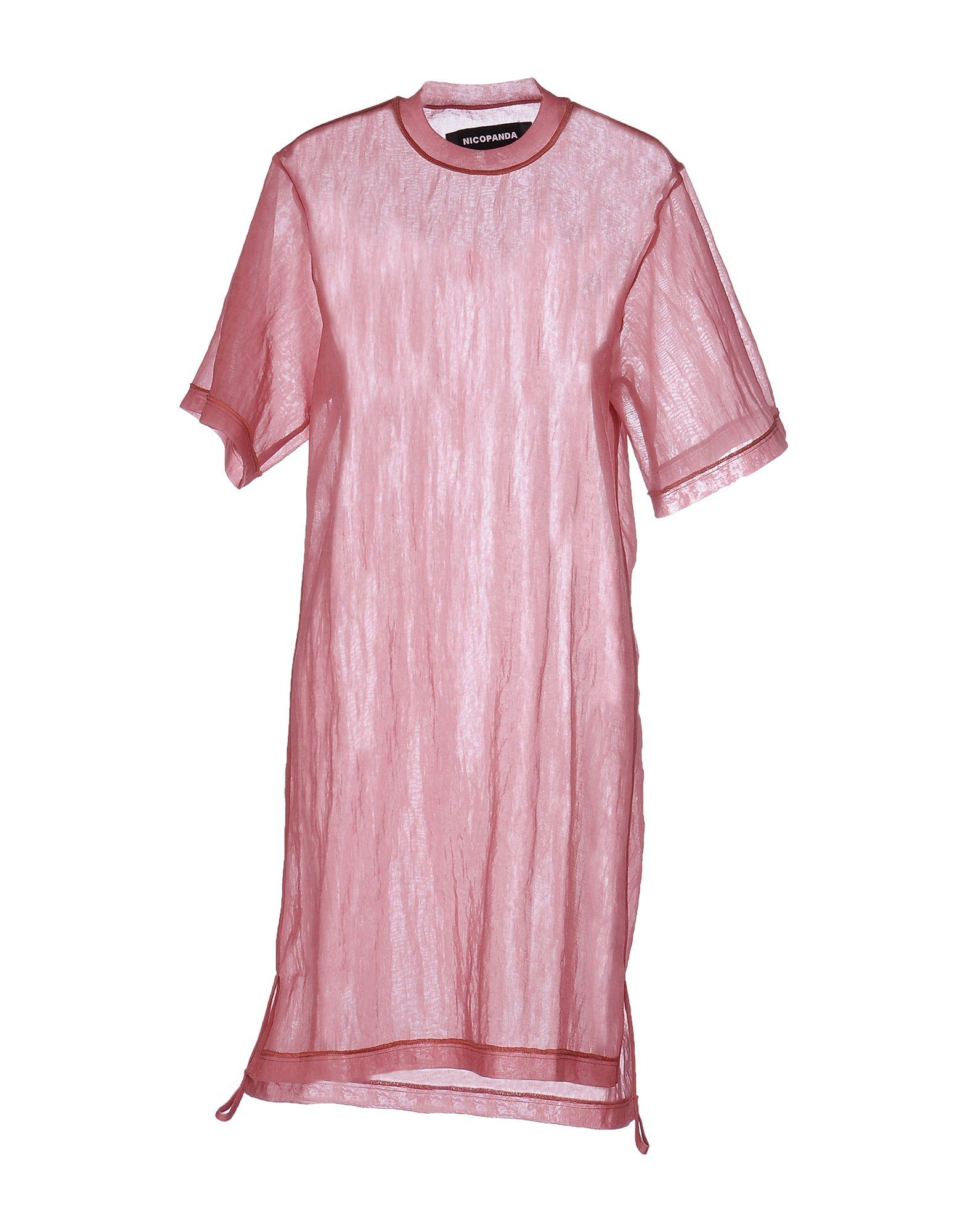NICOPANDA Короткое платье платье