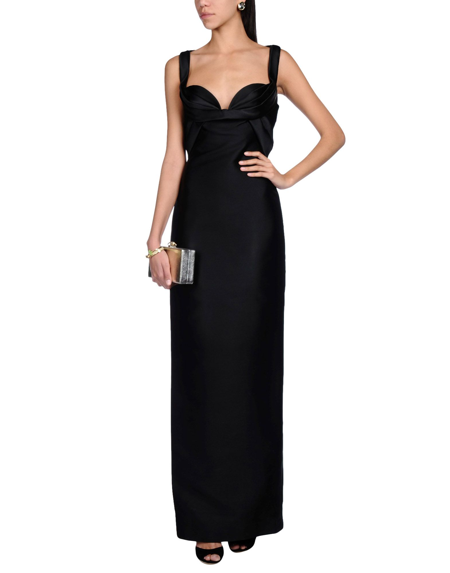 DSQUARED2 Длинное платье body solid ob 86 1500