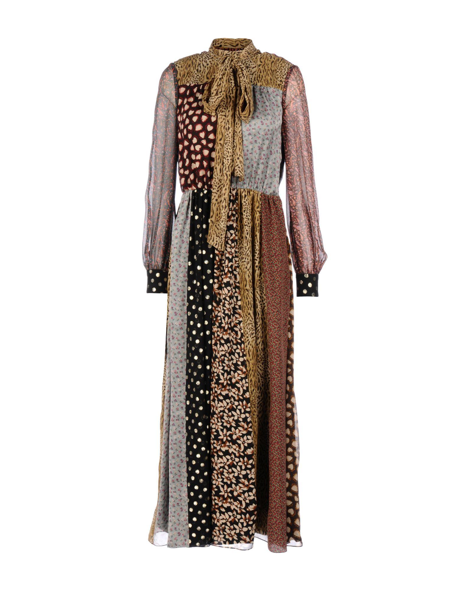SAINT LAURENT Длинное платье цена 2017