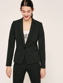 ARMANI EXCHANGE CLASSIC ONE-BUTTON BLAZER Blazer Woman f
