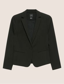 ARMANI EXCHANGE CLASSIC ONE-BUTTON BLAZER Blazer Woman r