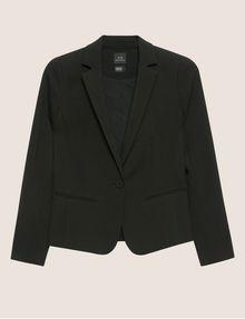 ARMANI EXCHANGE CLASSIC ONE-BUTTON BLAZER Blazer [*** pickupInStoreShipping_info ***] r