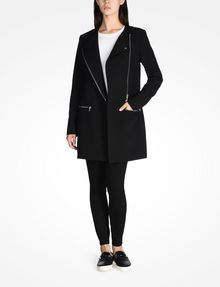 ARMANI EXCHANGE MOTO INSPIRED LONG COAT Coat D a