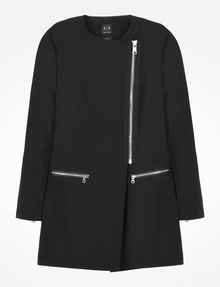 ARMANI EXCHANGE MOTO INSPIRED LONG COAT Coat D b