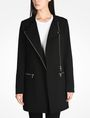 ARMANI EXCHANGE MOTO INSPIRED LONG COAT Coat D f