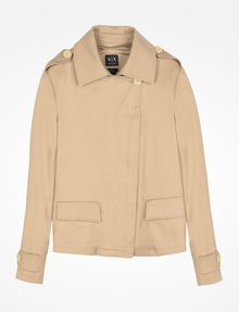 ARMANI EXCHANGE ASYMMETRIC UTILITY JACKET Jacket Woman b