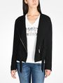 ARMANI EXCHANGE TIE WAIST MOTO JACKET Jacket Woman f