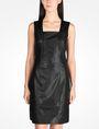 ARMANI EXCHANGE FAUX LEATHER DRESS Mini dress Woman f