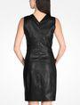 ARMANI EXCHANGE FAUX LEATHER DRESS Mini dress D r