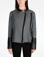 ARMANI EXCHANGE HOUNDSTOOTH MOTO JACKET Jacket D f