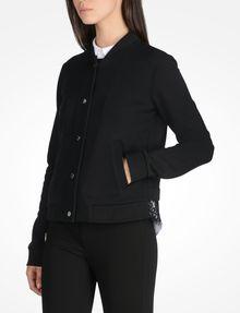 ARMANI EXCHANGE LACE BACK KNIT BOMBER JACKET Fleece Jacket D d