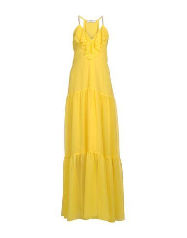Купить Женское длинное платье  желтого цвета