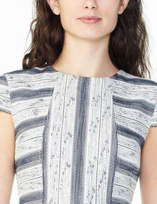 ARMANI EXCHANGE JACQUARD HOURGLASS DRESS Mini dress Woman e