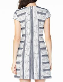 ARMANI EXCHANGE JACQUARD HOURGLASS DRESS Mini dress Woman r