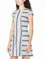 ARMANI EXCHANGE JACQUARD HOURGLASS DRESS Mini dress Woman d