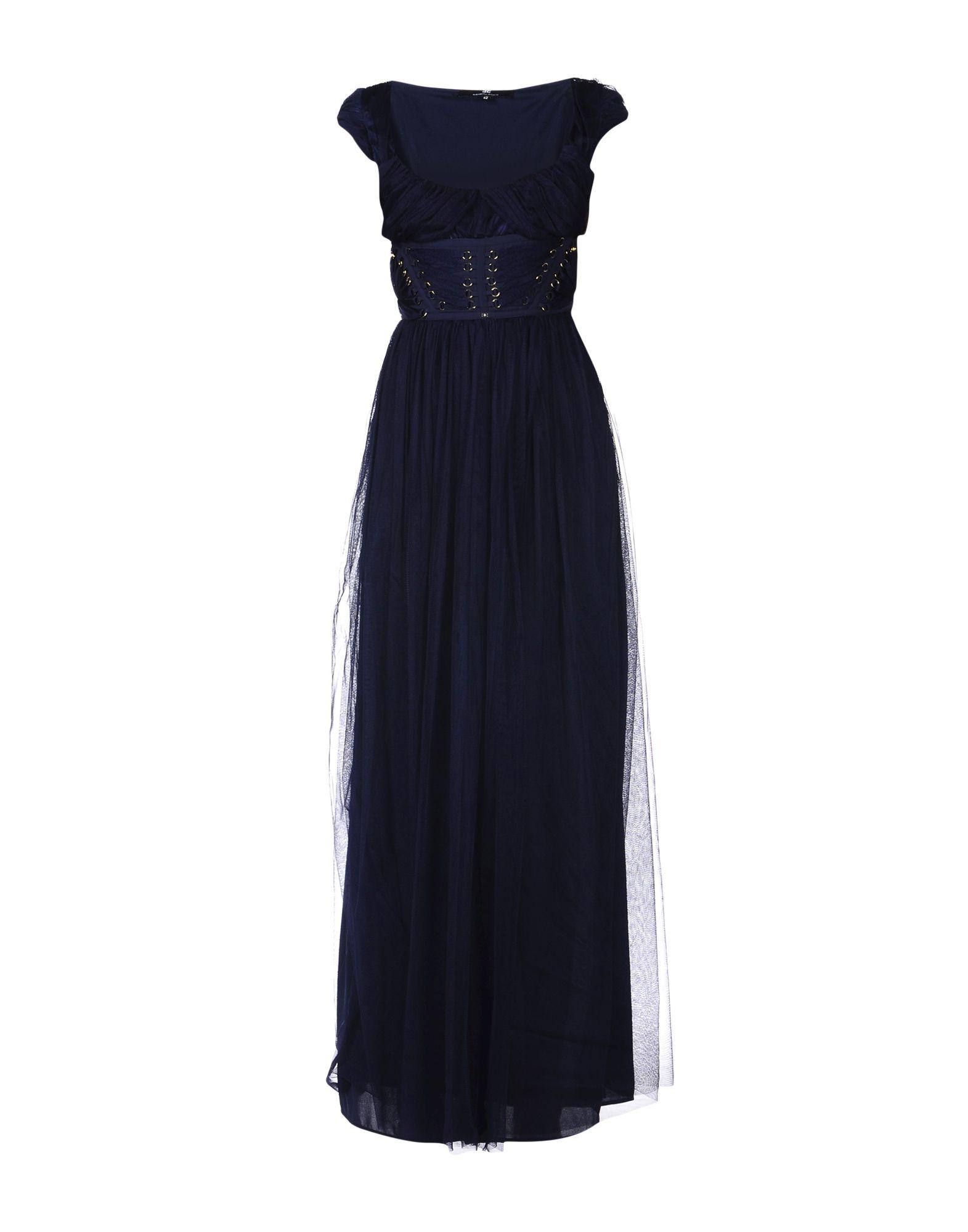 ELISABETTA FRANCHI Длинное платье гао lujie colgate звезда дизайн подписи рука веревка