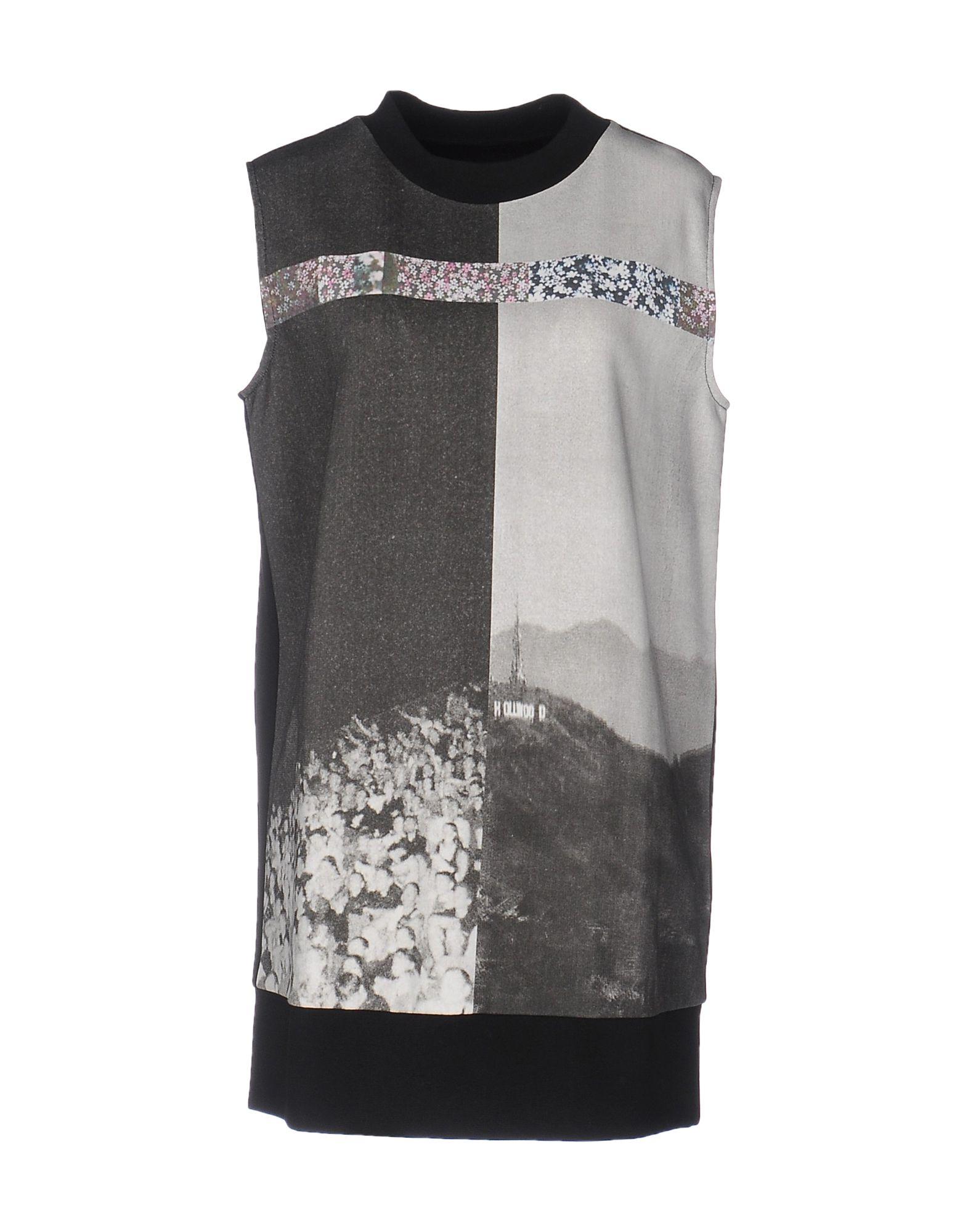 MM6 MAISON MARGIELA Damen Kurzes Kleid Farbe Blei Größe 5 - broschei