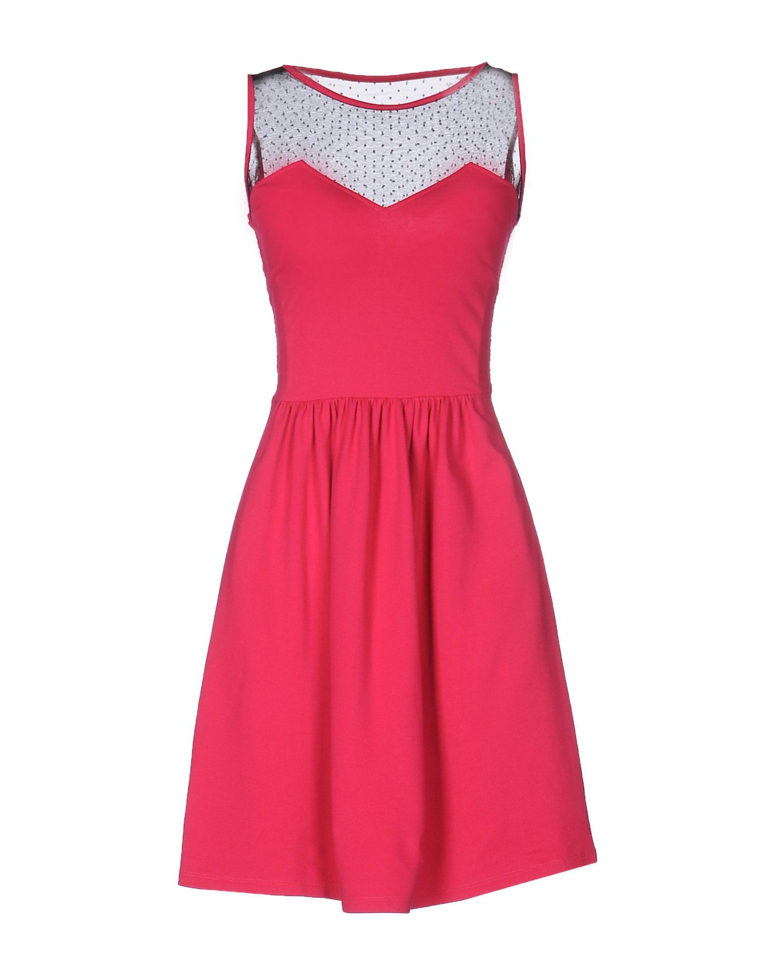 REDValentino Damen Kurzes Kleid Farbe Fuchsia Größe 7 jetztbilligerkaufen