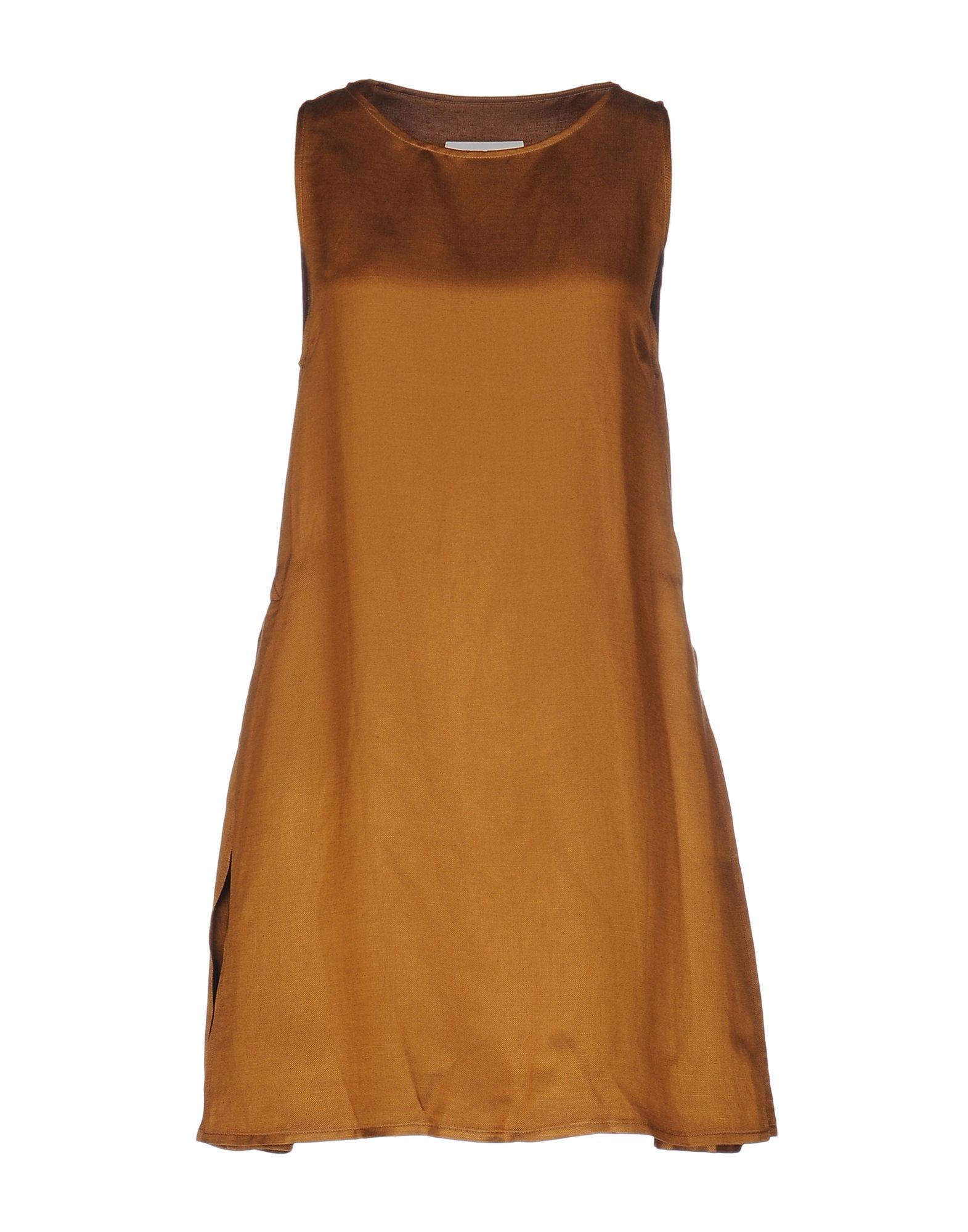 MM6 MAISON MARGIELA Damen Kurzes Kleid Farbe Braun Größe 5 - broschei