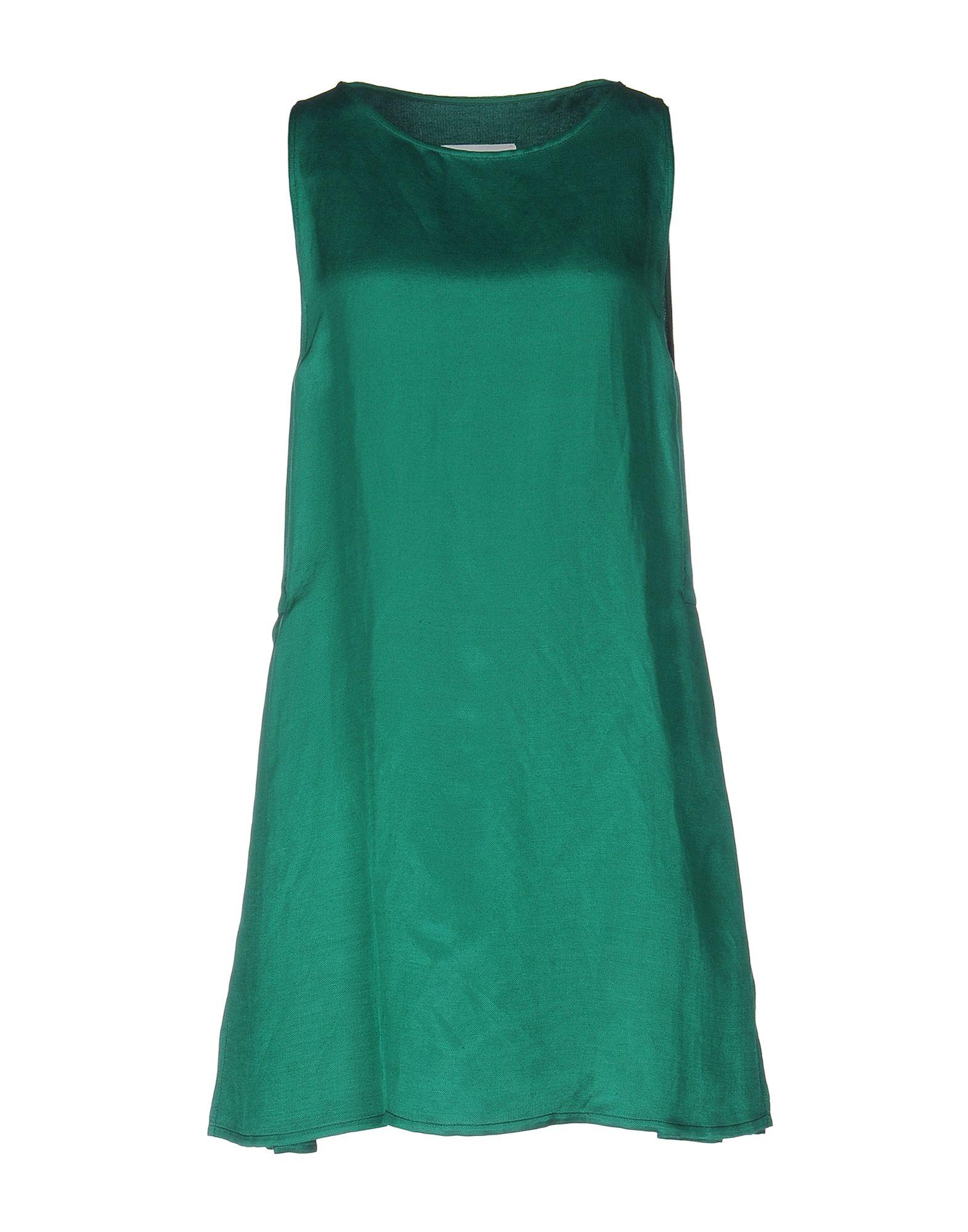 MM6 MAISON MARGIELA Damen Kurzes Kleid Farbe Grün Größe 6 - broschei