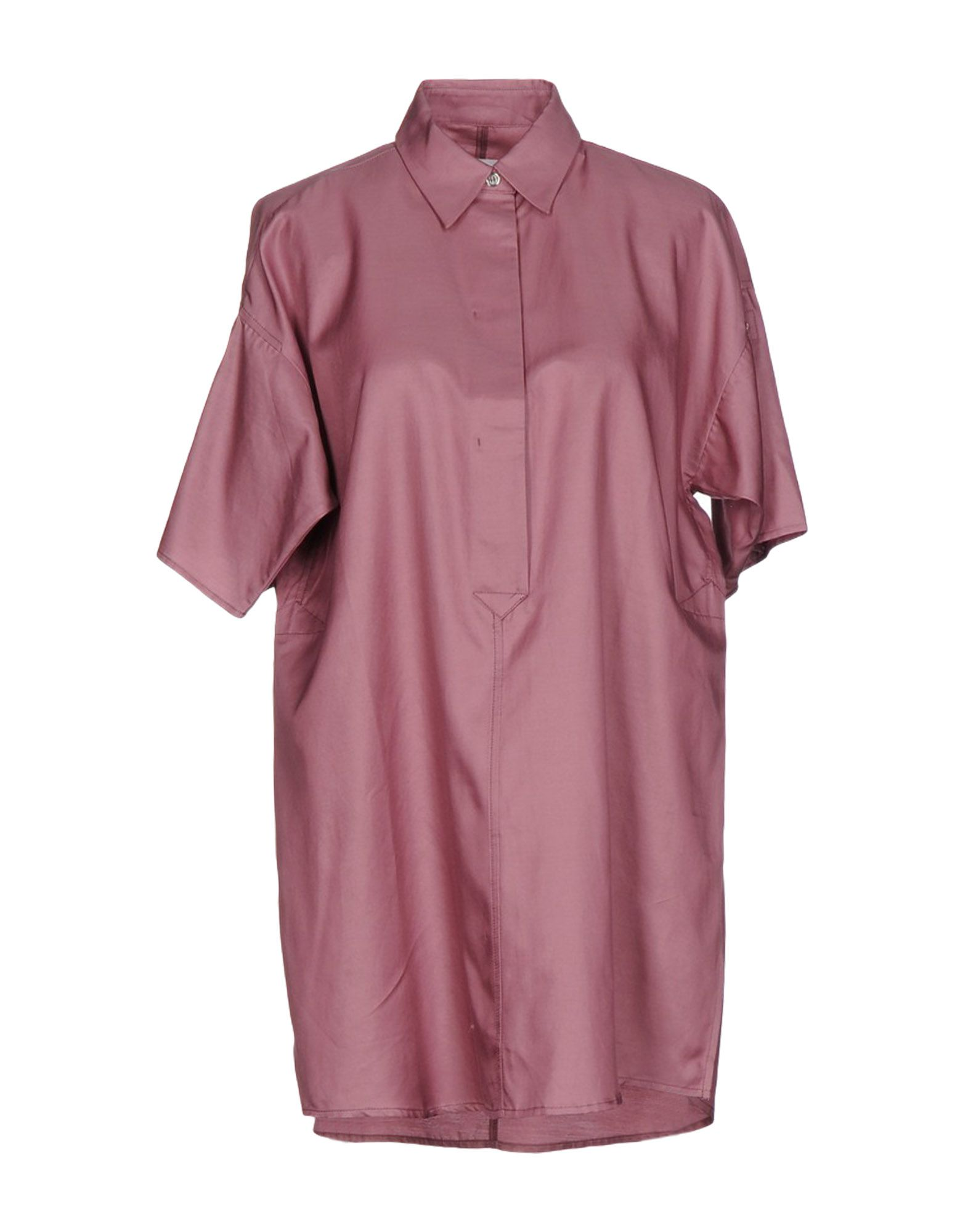 MM6 MAISON MARGIELA Damen Bluse Farbe Altrosa Größe 5 - broschei