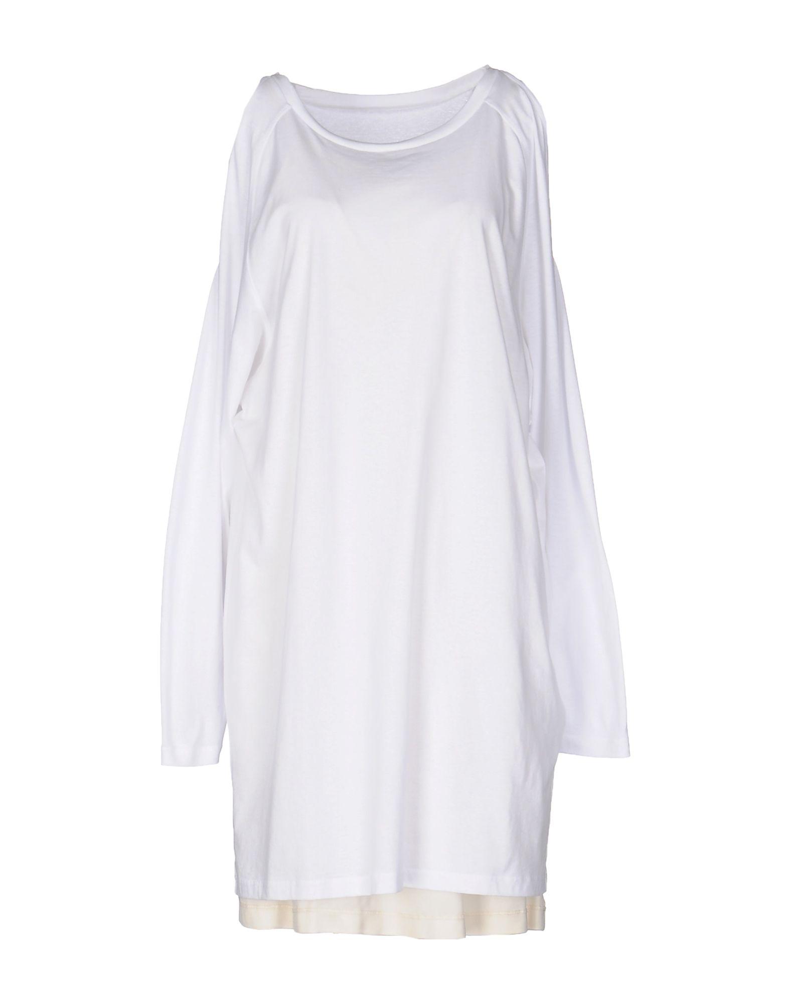 MM6 MAISON MARGIELA Damen Kurzes Kleid Farbe Weiß Größe 3 - broschei