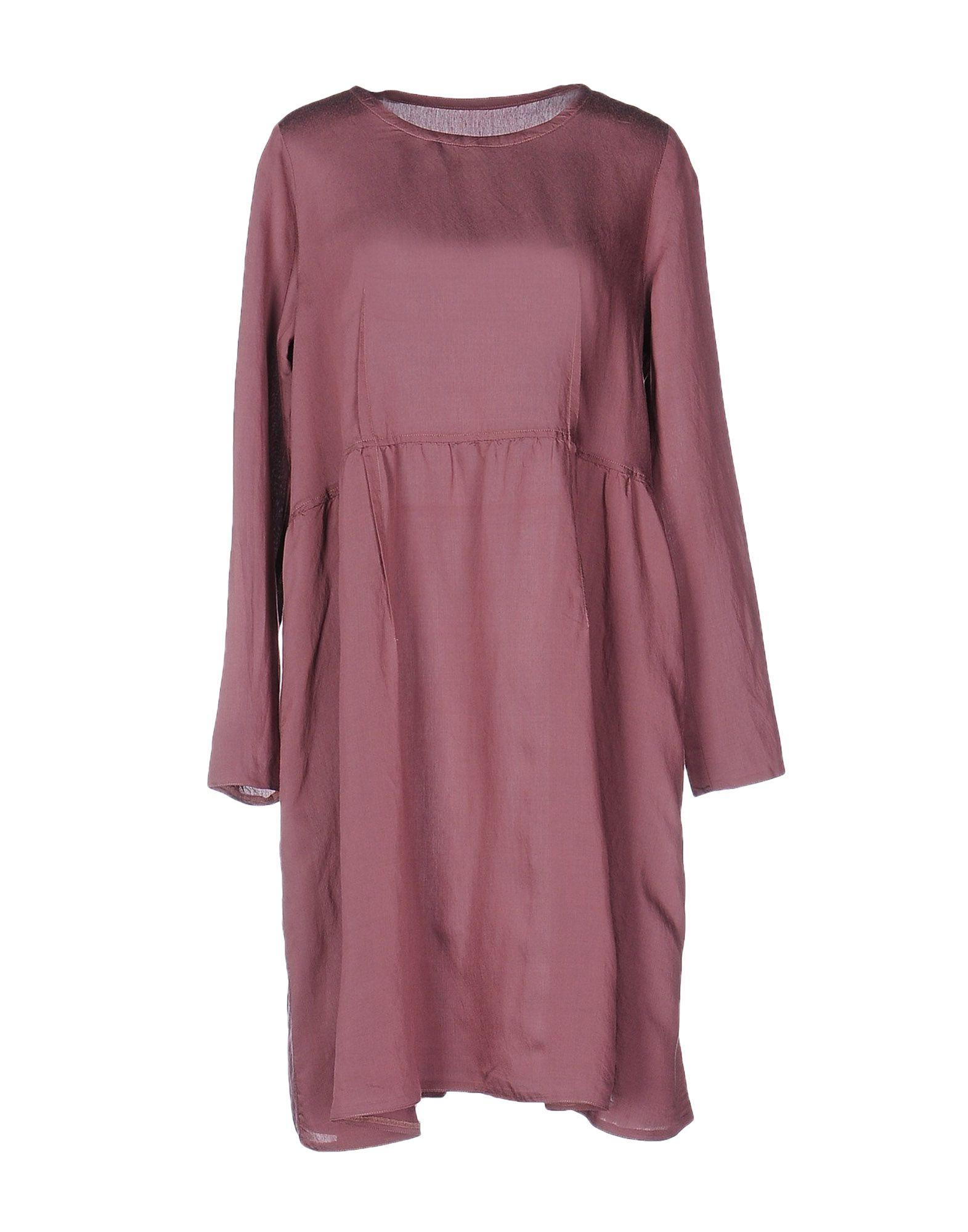 MM6 MAISON MARGIELA Damen Kurzes Kleid Farbe Malve Größe 3 - broschei