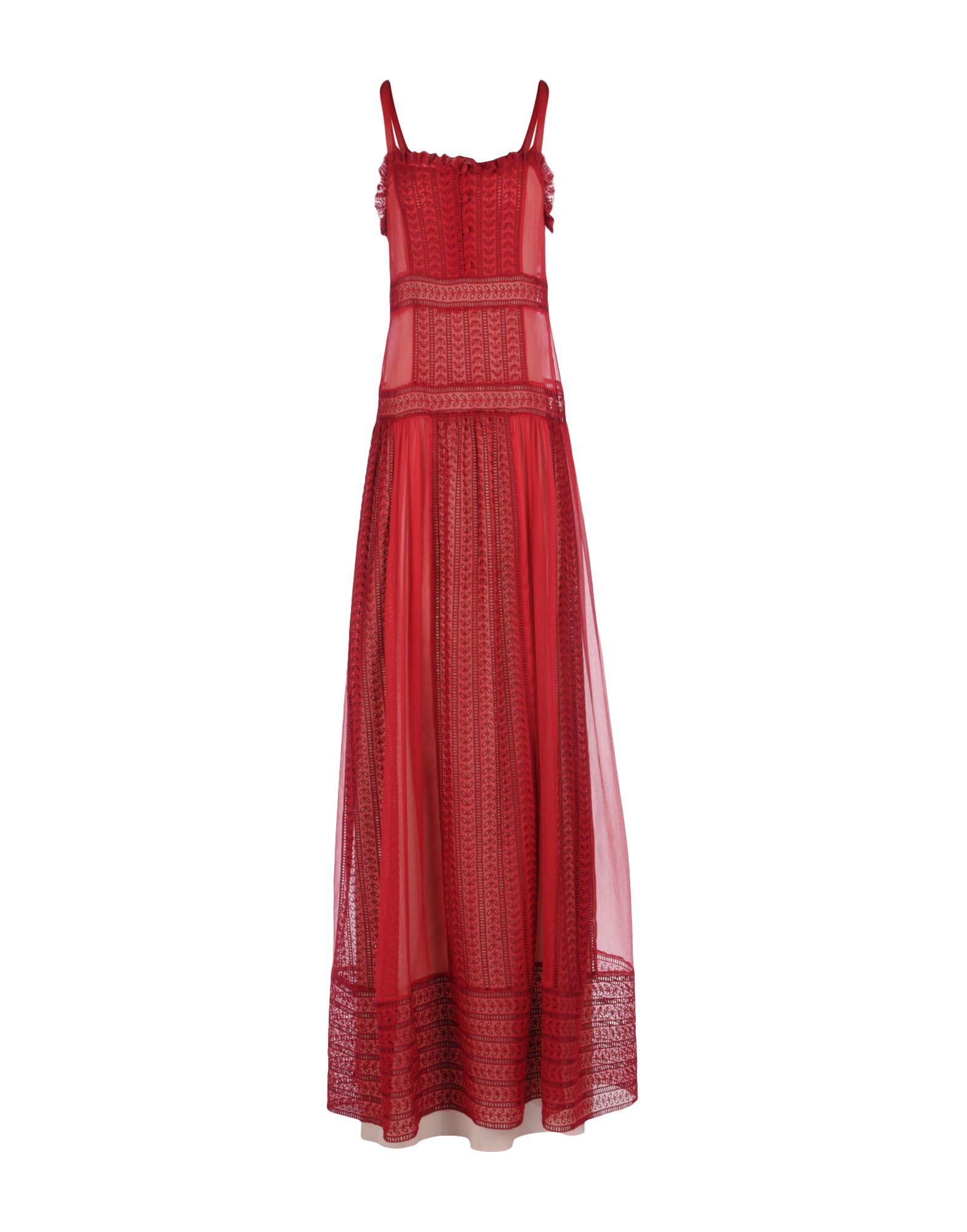 PHILOSOPHY di LORENZO SERAFINI Damen Langes Kleid Farbe Purpur Größe 6 - broschei