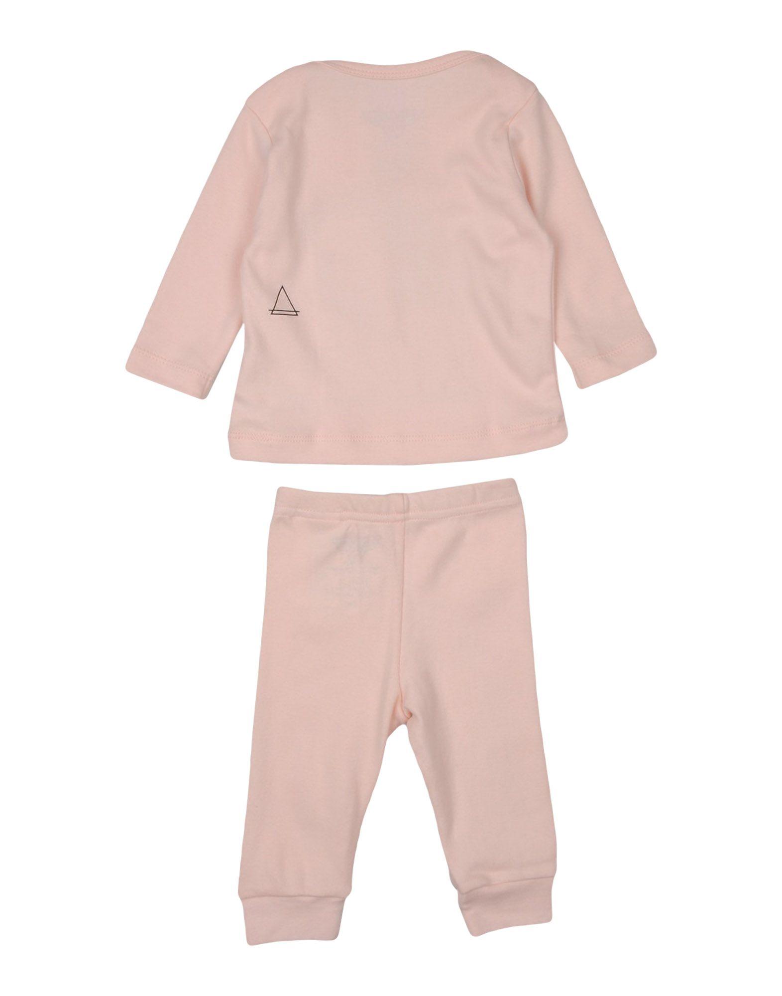 LITTLE ELEVEN PARIS Mädchen 0-24 monate Set Farbe Hellrosa Größe 8 jetztbilligerkaufen