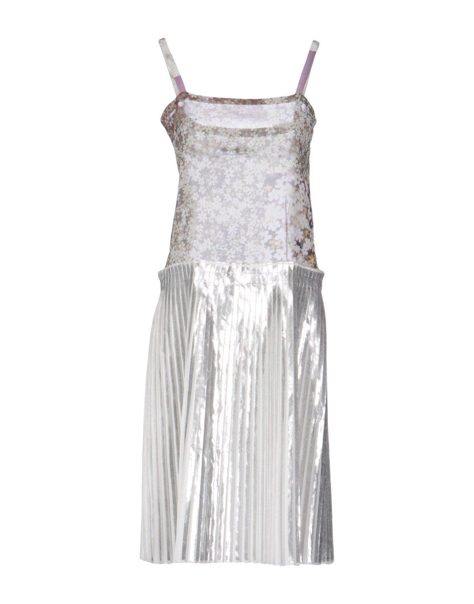 MM6 MAISON MARGIELA Damen Knielanges Kleid Farbe Militärgrün Größe 3 - broschei