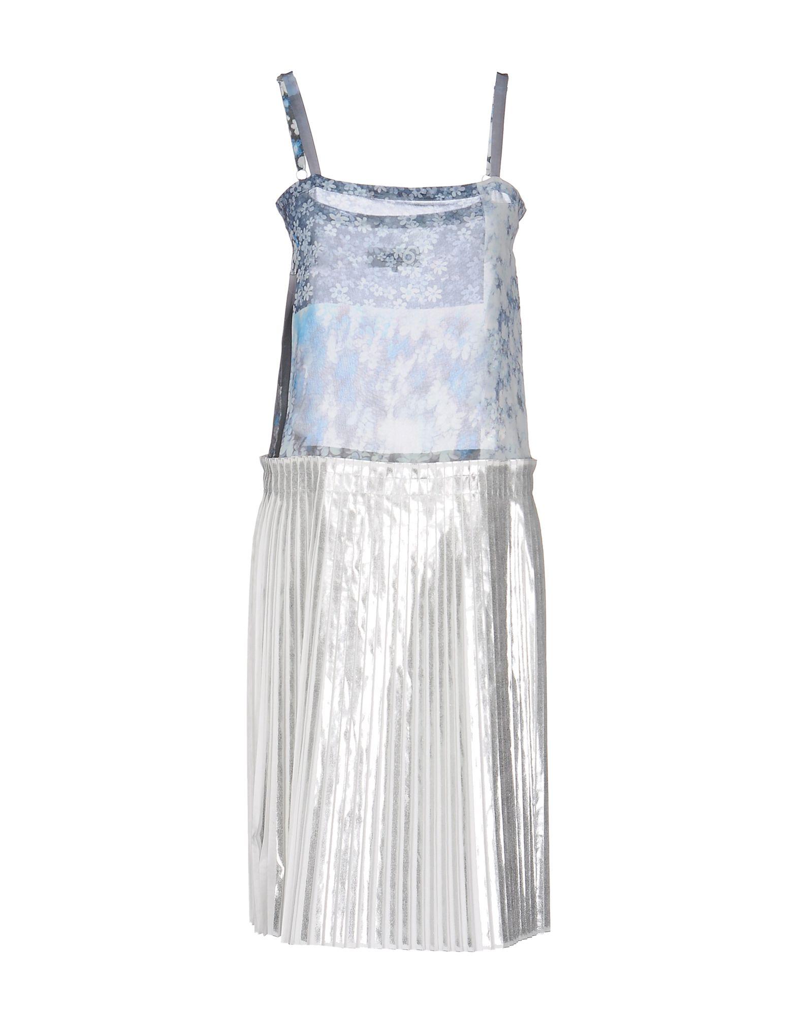 где купить MM6 MAISON MARGIELA Платье до колена по лучшей цене