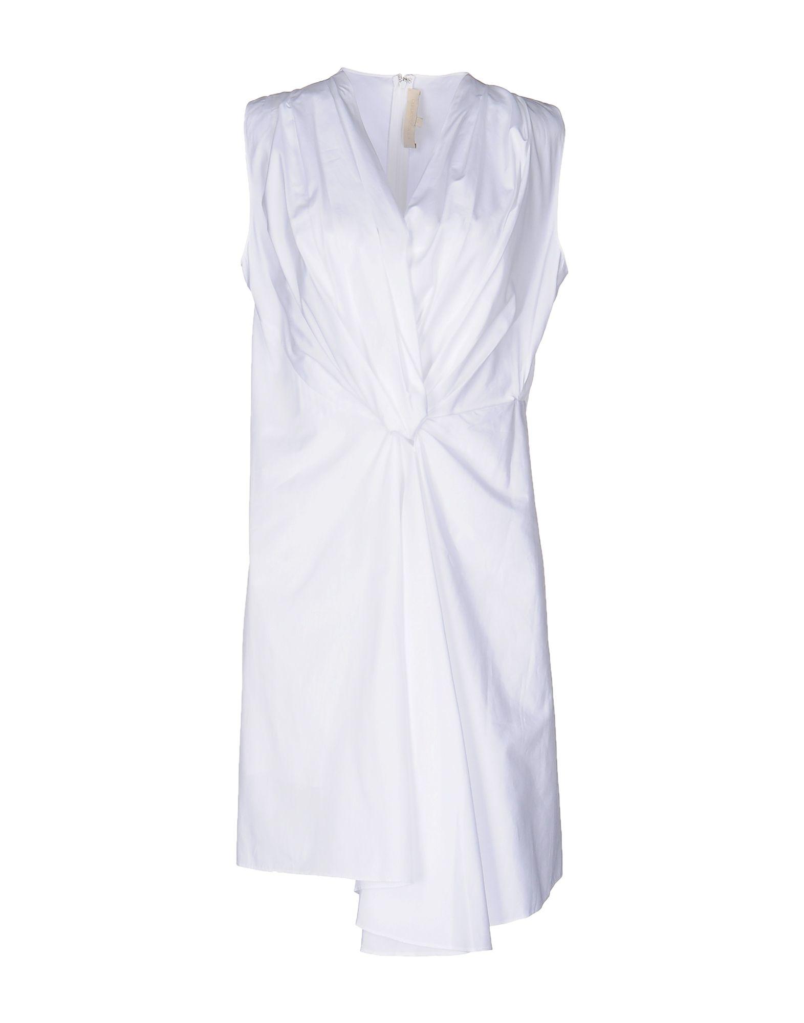 VANESSA BRUNO Damen Kurzes Kleid Farbe Weiß Größe 5 jetztbilligerkaufen