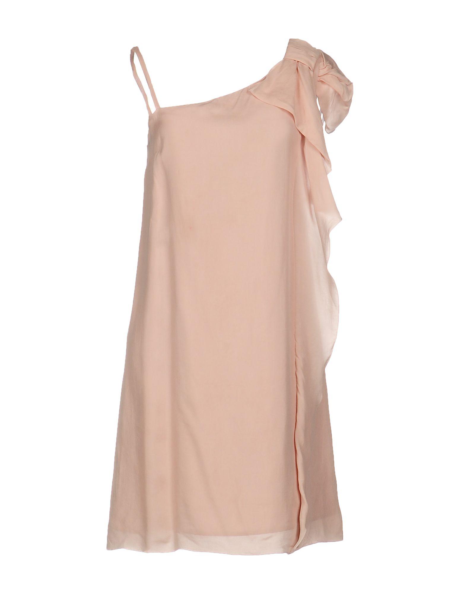 REDValentino Damen Kurzes Kleid Farbe Rosa Größe 2 - broschei
