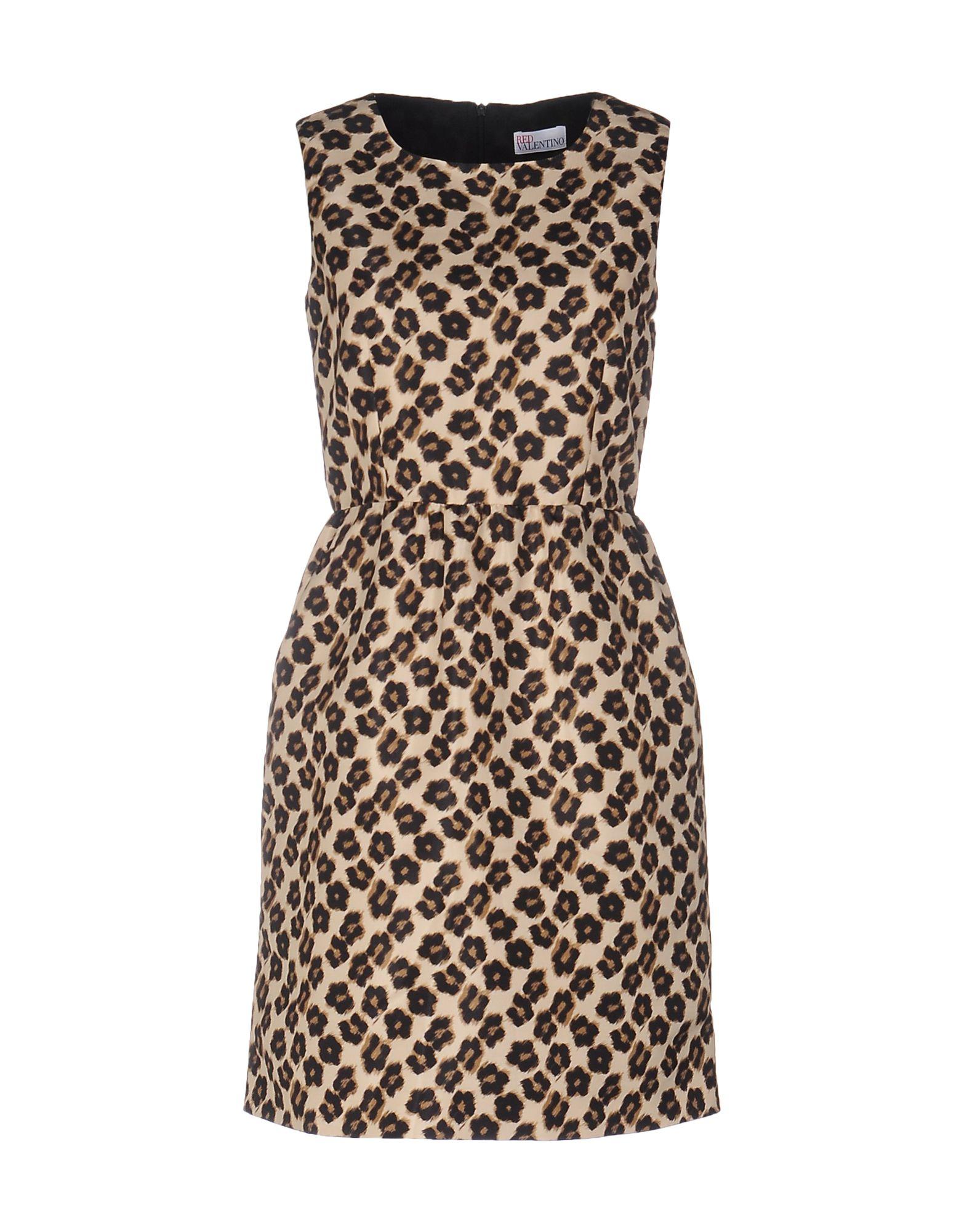 REDValentino Damen Kurzes Kleid Farbe Beige Größe 6 jetztbilligerkaufen