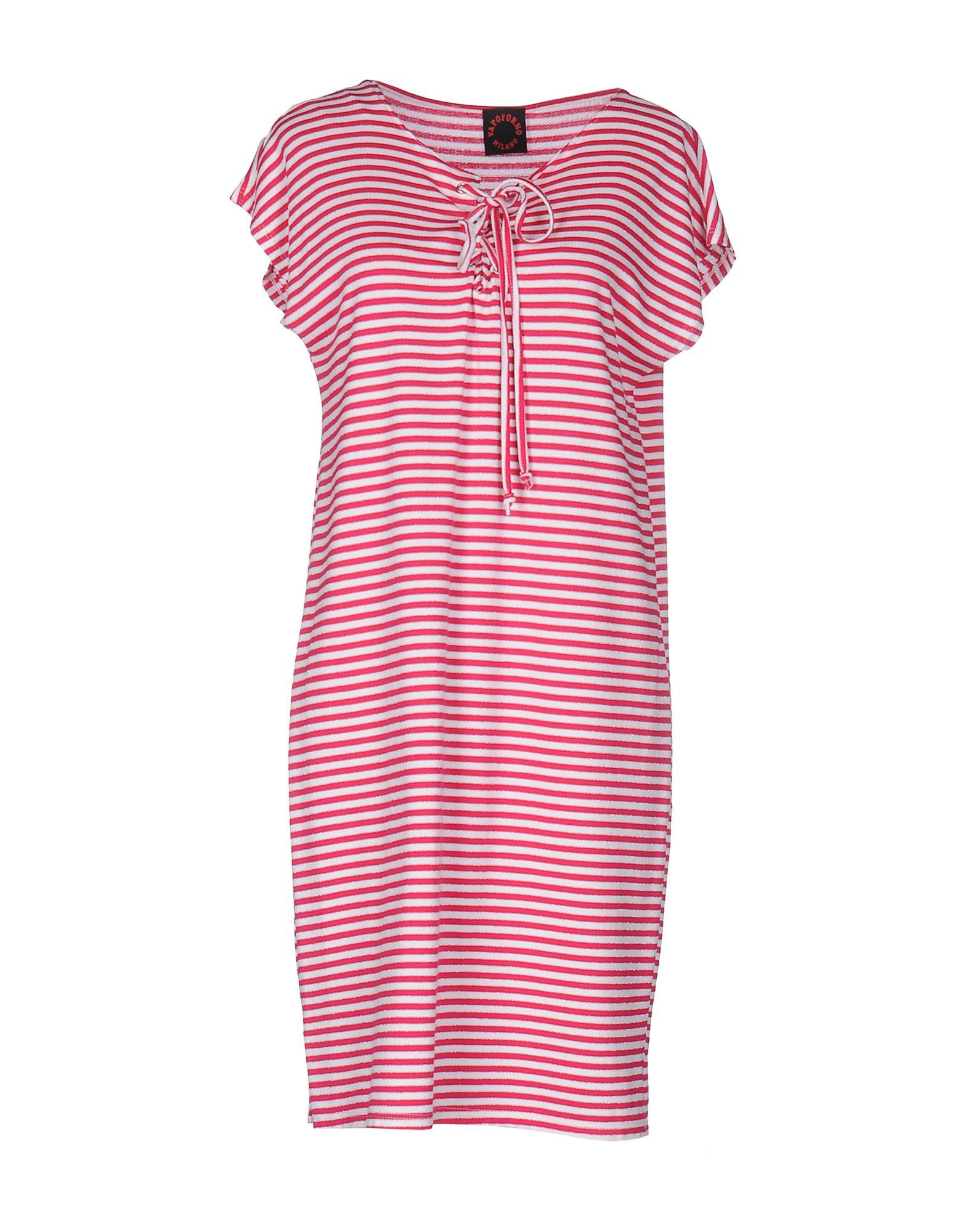 купить VAPOFORNO MILANO Короткое платье по цене 2850 рублей