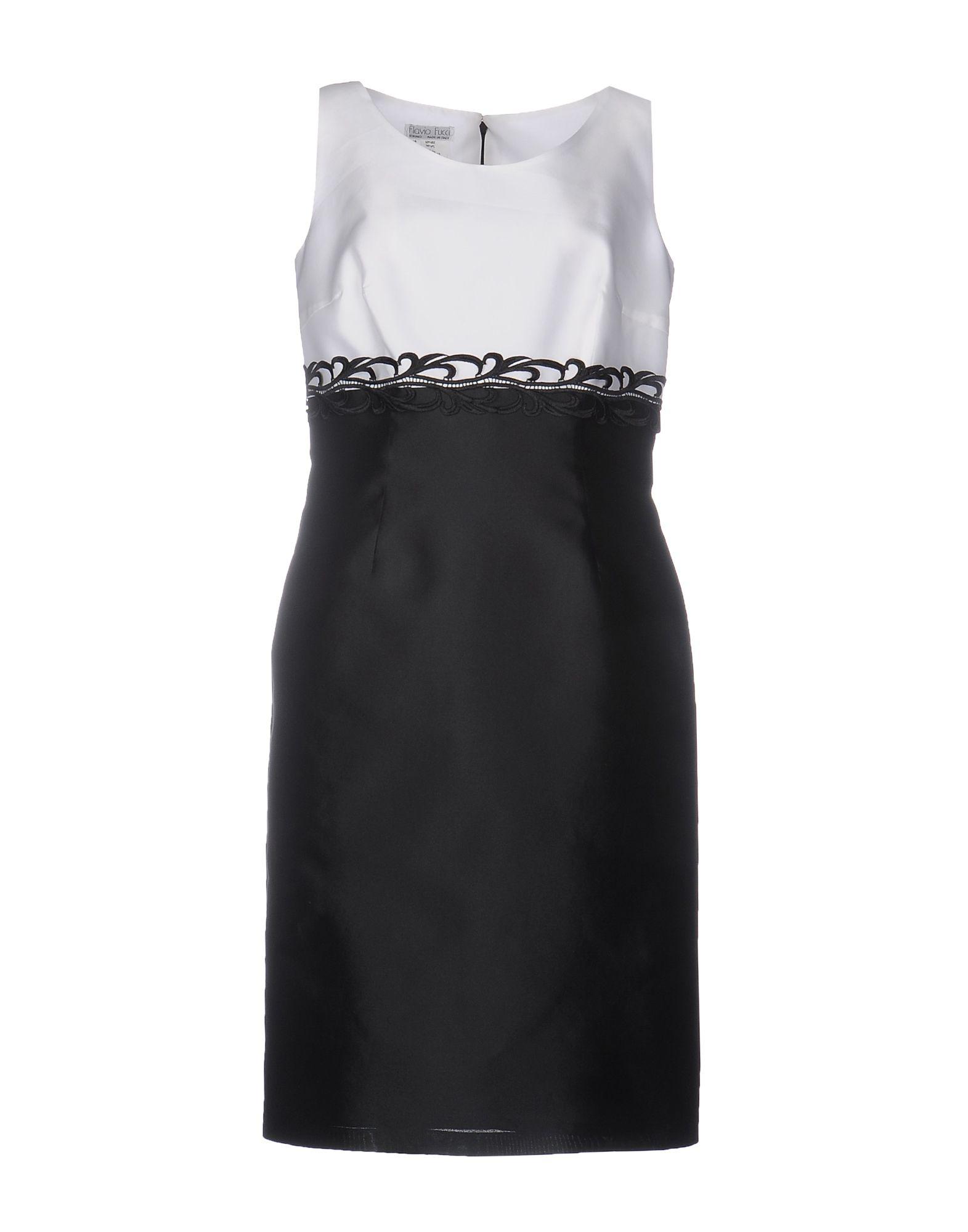 цена  FLAVIO FUCCI Платье до колена  онлайн в 2017 году