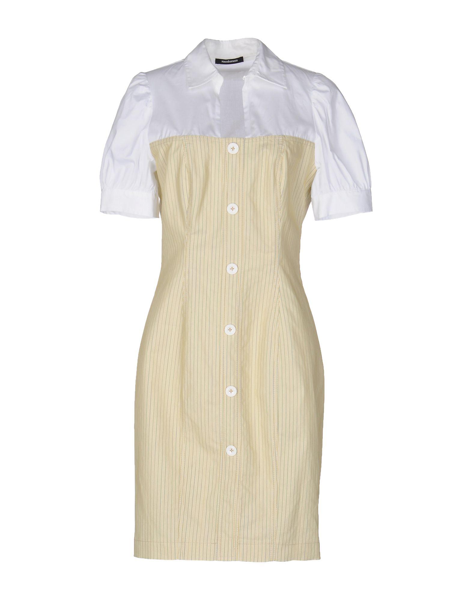где купить  ROCCOBAROCCO Короткое платье  по лучшей цене