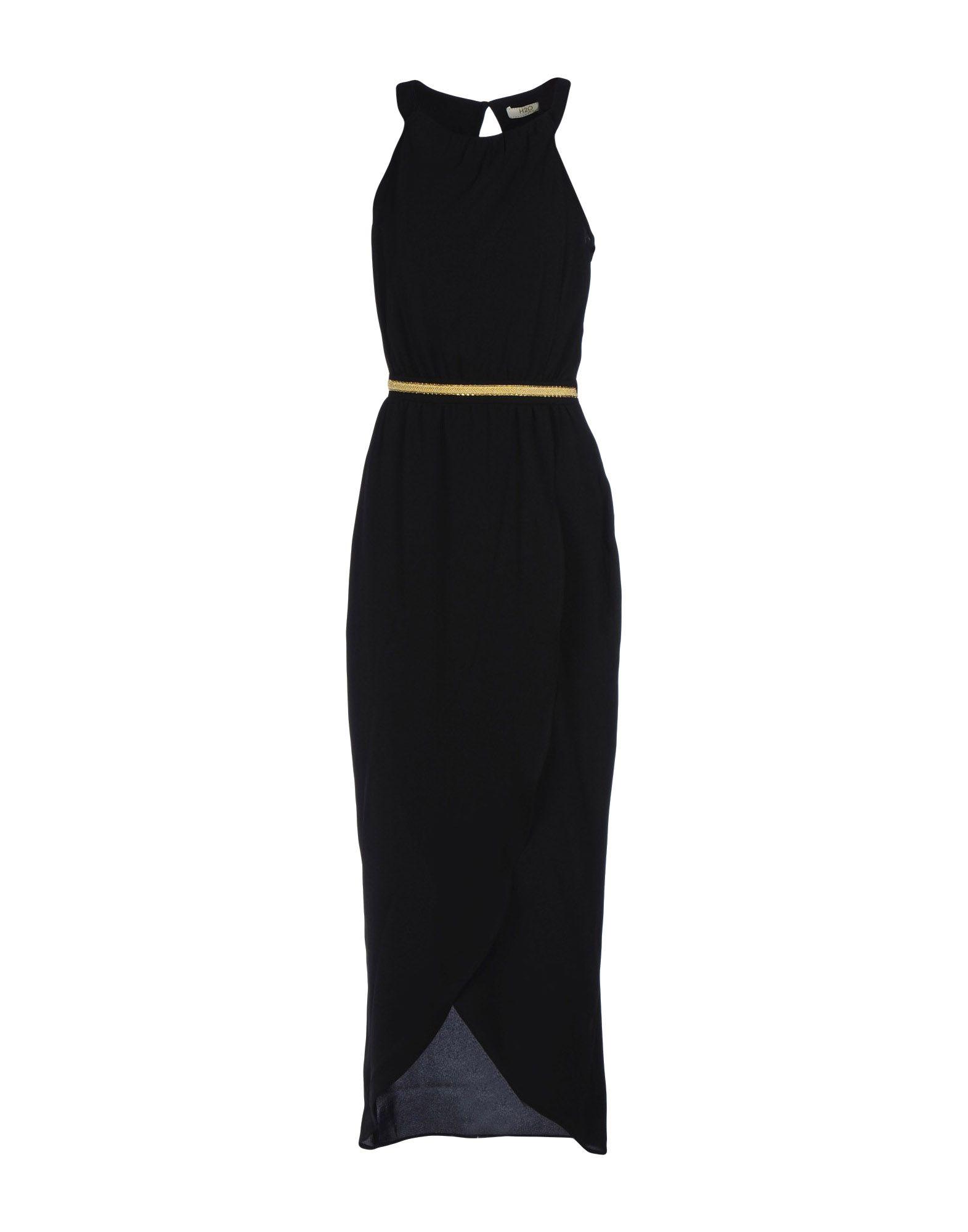 H2O  ITALIA Длинное платье h2o italia джинсовые брюки