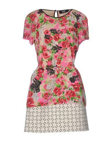 Короткое платье VDP COLLECTION 34679537CA