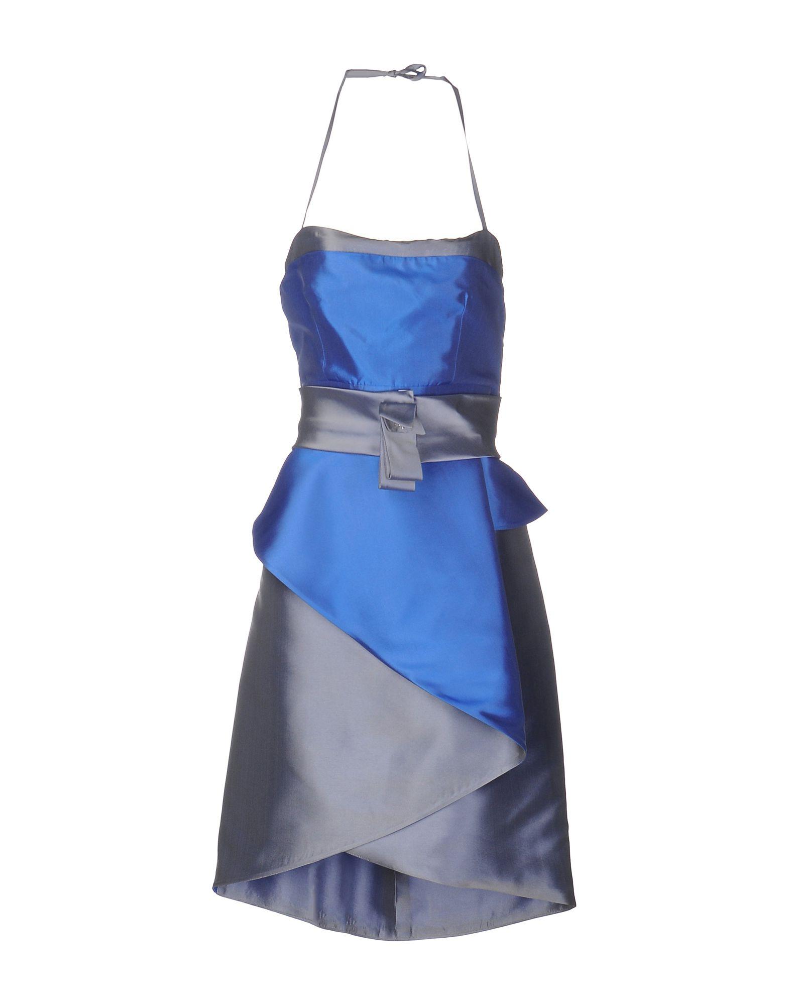 цена  FLAVIO FUCCI Короткое платье  онлайн в 2017 году