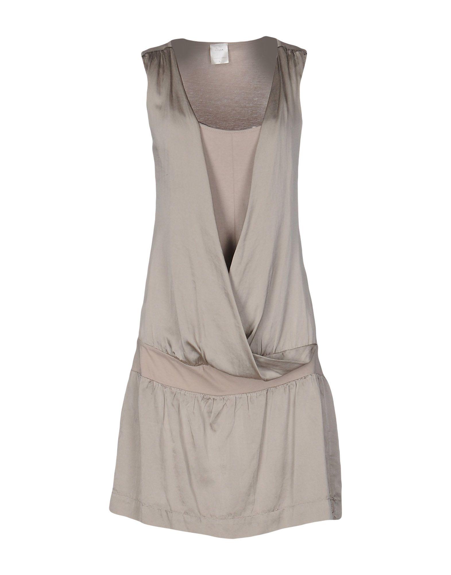 цена DANIELE FIESOLI Короткое платье онлайн в 2017 году