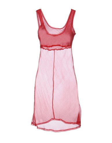 Фото - Платье до колена от MALÌPARMI красного цвета